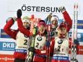 Биатлон: Норвегия победила в смешанной эстафете, Украина - десятая