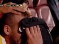 Футболист расплакался из-за своей плохой игры
