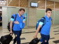 Видео прилета сборной Украины в Турцию на матч отбора к ЧМ-2016