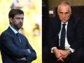 Президенты Ювентуса и Лацио повздорили из-за возобновления Серии А