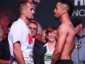 Ковалев - Уорд: Видео взвешивания боксеров