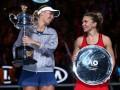 Возняцки обыграла Халеп в финале Australian Open