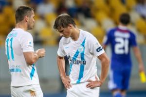 Зенит не сумел обыграть Динамо в Киеве