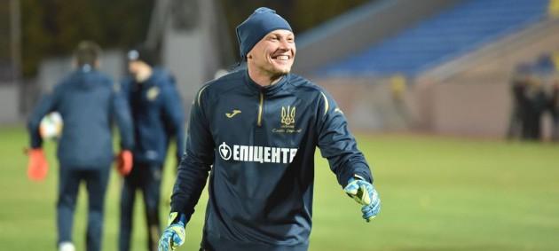 Пятов - лучший игрок сборной Украины в матче против Португалии по версии WhoScored