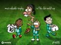 Футбольный жулик и раздетый Роналдиньо. Самые смешные курьезы недели