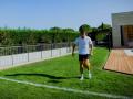 Роналду снялся в блоге и показал трюк с ретро-мячом