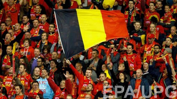 Матч в Бельгии отменет