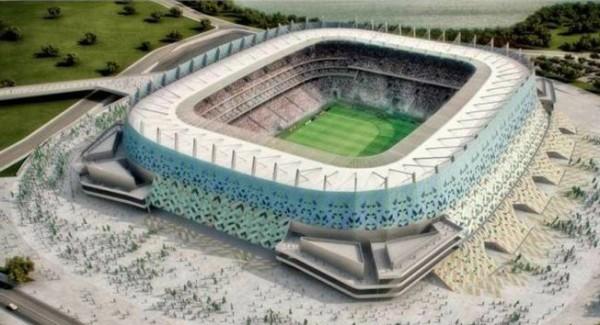 А так Арена Пернамбуку должна выглядеть к 15 июня 2013 года