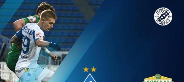 Динамо на последних минутах вырвало победу над Ворсклой