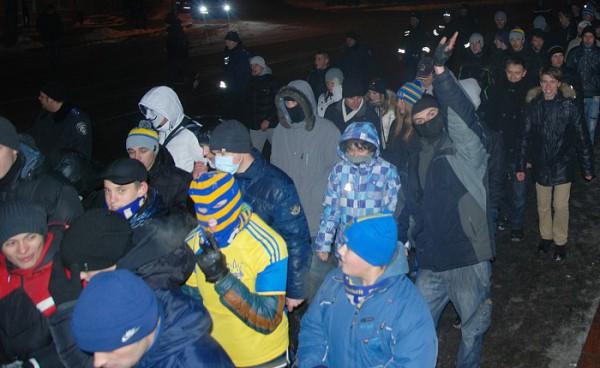 Акция Свободу Павличенко в Харькове закончилась столкновениями с милицией