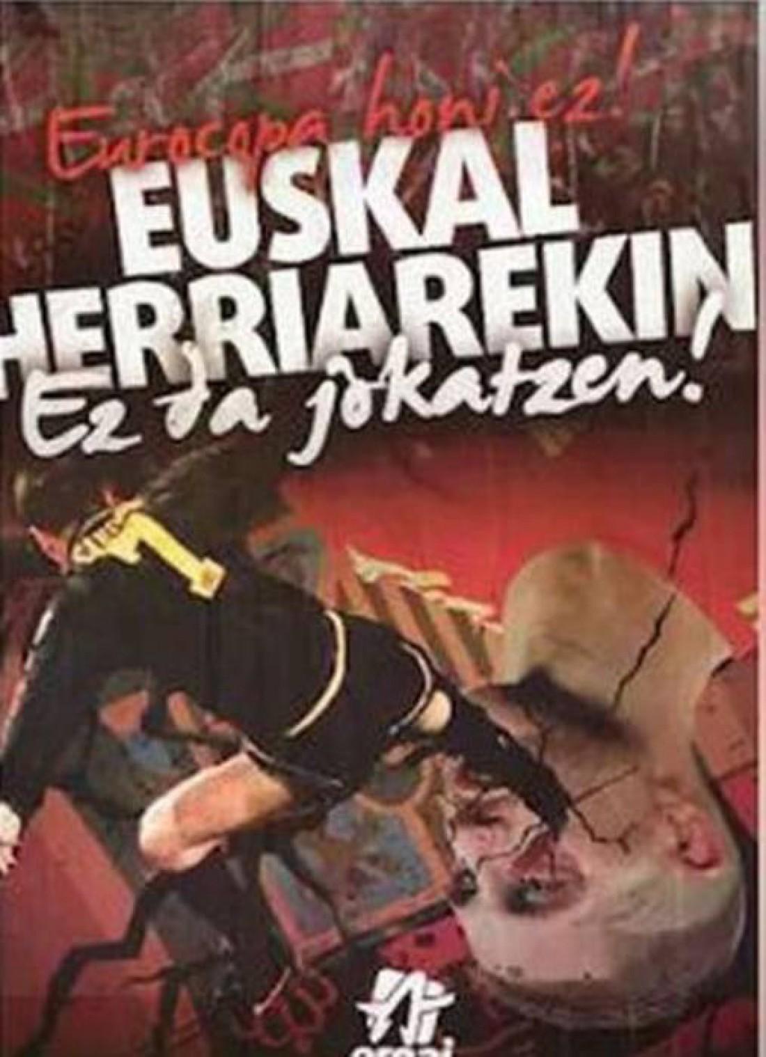Плакат, который вывесили сепаратисты