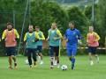 Сбор в Швейцарии: Как сборная Украины провела первую тренировку в Асконе
