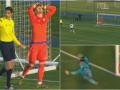 Арбитр не увидел забитый пенальти в матче Юношеской ЛЧ