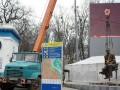 Памятник легендарному Валерию Лобановскому перенесли в другое место