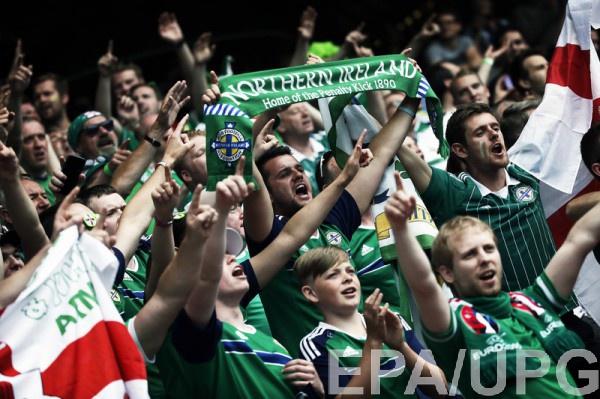 Фанаты сборной Северной Ирландии