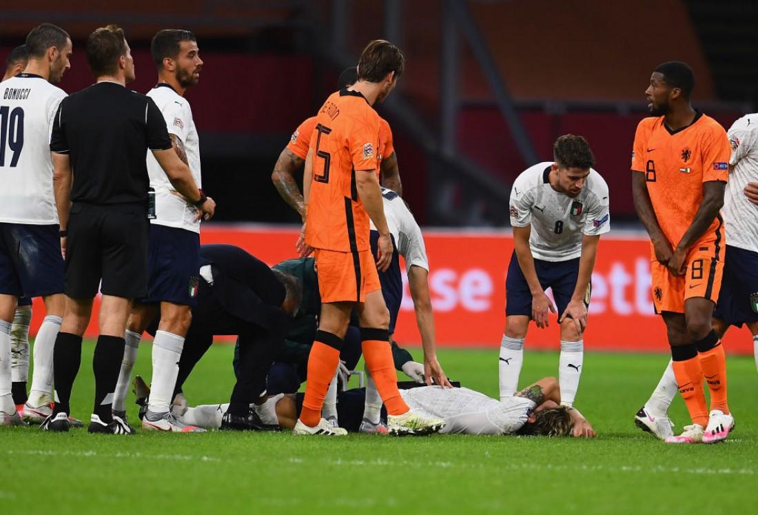 Николо Дзаньоло получил травму в матче Лиги наций