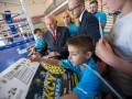 АИБА провела открытую тренировку с воспитанниками харьковских спортивных школ