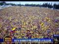Болельщики устроили сумасшедшую встречу сборной Колумбии