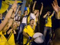 Украинские болельщики пройдут маршем в поддержку сборной Украины в матче с Англией