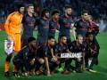Игроки Арсенала вышли из