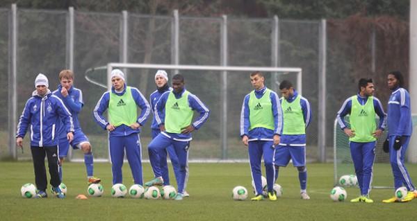 Динамо приступило к тренировкам