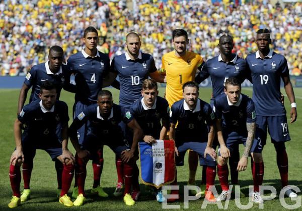 Cборная Франции - фаворит матча с Румынией