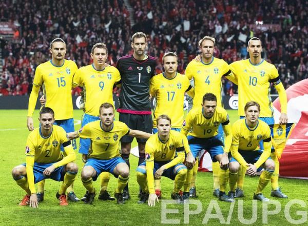 Сборная Швеции - участник Евро-2016