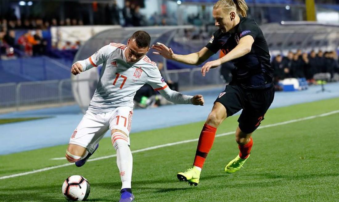 Видео голов матча Хорватия - Испания