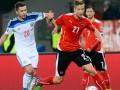 Новая неудача: Сборная России уступила Австрии в отборе на Евро-2016