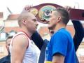 Гловацки - Усик: Лучшие фото с открытой тренировки боксеров в Варшаве