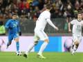 Россияне забыли слова гимна перед стартом матча с Бразилией