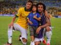 Восьмилетний сын Марсело оформил хет-трик за юношескую команду Реала