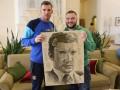 Портрет Андрея Шевченко составили из стихотворений Кобзаря
