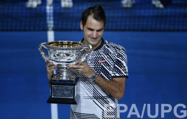 Роджер Федерер - победитель Australian Open