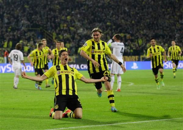 Роберт Левандовски ставит Реал на колени