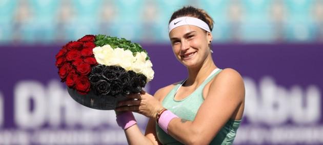 Соболенко выиграла титул в Абу-Даби, разбив обидчицу Свитолиной и Костюк