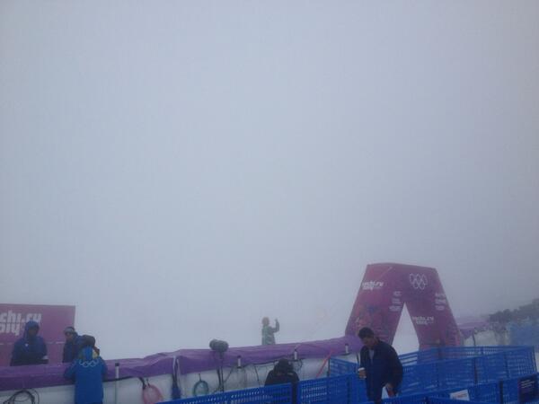 Финишная линия сноуборд-кросса