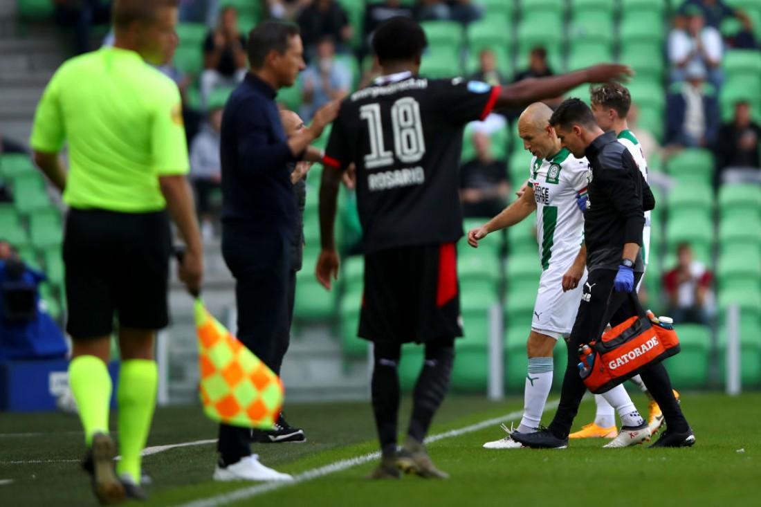 Арьен Роббен получил травму в матче против ПСВ
