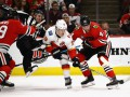 НХЛ: Вашингтон в результативном матче уступил Анахайму, Калгари вырвал победу у Чикаго