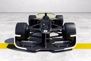 Болид будущего: Рено показала, на чем будет ездить в Формуле-1 через 10 лет