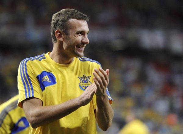 Шевченко завершает карьеру в сборной с улыбкой