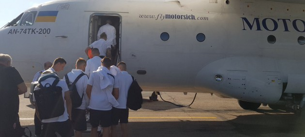 Заря отправилась в Испанию на матч Лиги Европы