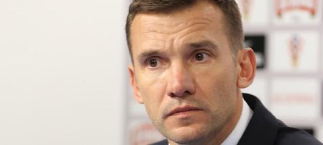 Шевченко: Ничья была бы хорошим и правильным результатом