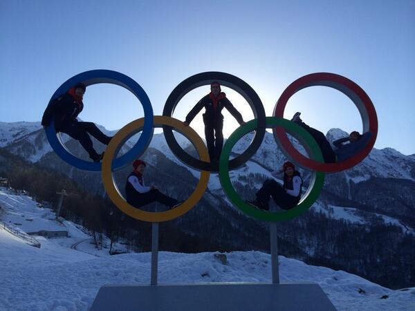 На Олимпиаде в Сочи начались первые соревнования