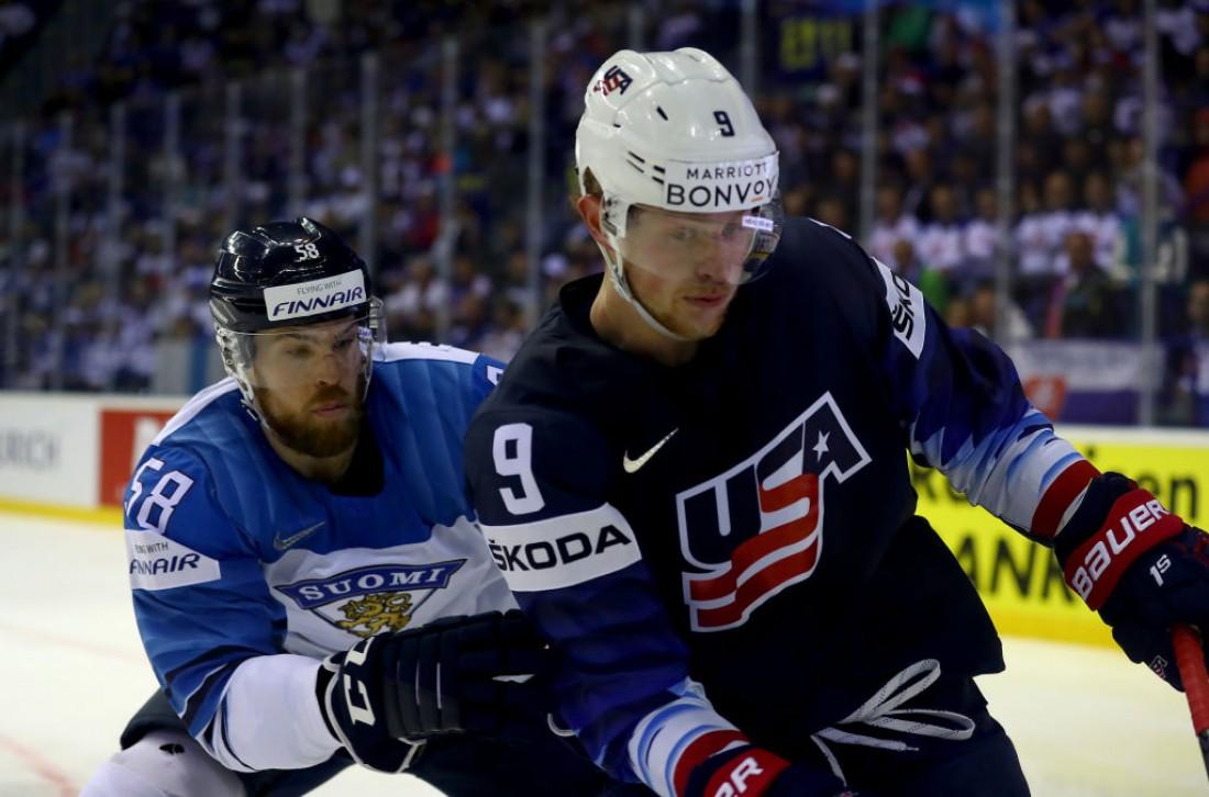 США - Финляндия: видео шайб