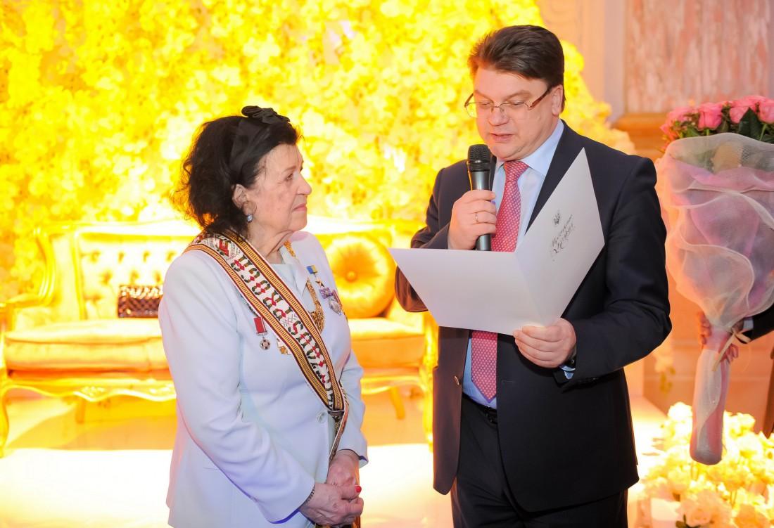Альбина Дерюгина отпраздновала 85-летие