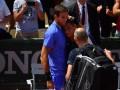 Альмагро не сдержал слез, не сумев продолжить матч с травмированным соперником