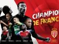 Монако - чемпион Франции сезона 2016/17