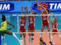 Российских волейболисток на игре в Турции забросали мусором