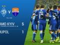 Динамо – Мариуполь 5:1 Видео голов и обзор матча чемпионата Украины